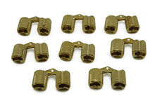 8PCS/Lot BRASS HIDDEN HINGE INVISIBLE HINGE CONCEALED HINGE FOR DOLL TOY PET BOX 10MM(China)