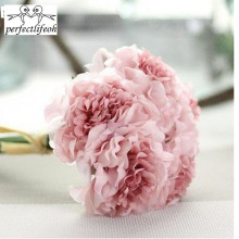 5pieces simulation peony bouquet high-end foreign trade home decoration small hydrangea(China)
