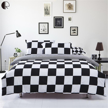 Home Duvet Cover Bedding Set Bed Linens Sheet Comforter Sets Twin/Full/Queen Size 3/4 Pcs Hot(China)