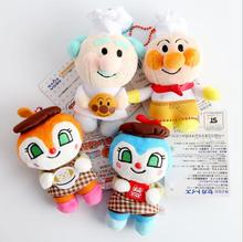 Japan plush toys anpanman Bread Superhuman Bacteria Sister Jam Grandpa Chef Series plush toys wj01