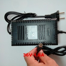 Wholesale EU 36v charger smart electric scooter charger 36v lead acid battery charger 1.8A 36V RCA OUTPUT