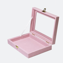 Fashion Pink Jewelry Display Case All Sorts of Small Adorn Article Can be Placed Dish Show Case Jewelry Show Box Free Shipping