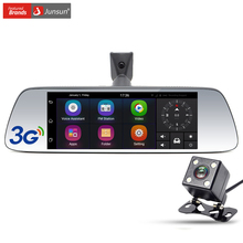 "Junsun New 7"" Special 3G Car DVR Camera Mirror Android 5.0 with GPS Automobile DVRs Dash Cam mirror Video Recorder"