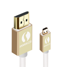 HDMI cable D to A Male Micro HDMI to HDMI Line cable Digital camera Mobile phone Micro HDMI connect HDTV(China)