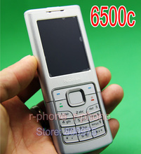 Original Refurbished Nokia 6500c Classic Mobile Phone 3G Unlocked 6500 Cellphone & Silver & One year warranty(China)