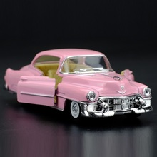 High Simulation Exquisite Diecasts&Toy Vehicles: KiNSMART Car Styling 1953 Cadillac Classic Car 1:43 Alloy Diecast Model Toy Car(China)
