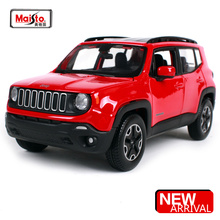Maisto 1:24 2015 Jeep Renegade City suvs JEEP cross country car Diecast Model Car Toy New In Box Free Shipping NEW ARRIVAL 31282