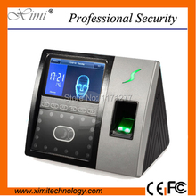 High speed identify 4.3 touch screen latest ZMM220 TCP/IP iface703 fingerprint face access controller and time attendance system(China)