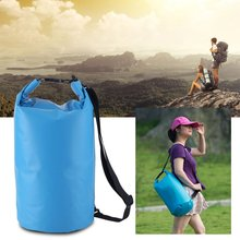 OUTAD 500D PVC Outdoor Portable Single Shoulder Waterproof Dry Swim Bag 20L For Beach Kayak Fishing Camping Storage Dry Bag(China)