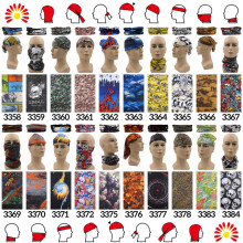 Custom Printed Bandanas Tubular Multifunction Motorcycle Scarf Headband  Bandana Polyester Microfiber Headbands For Adults