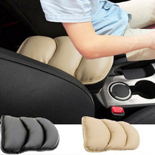Hot sales Car Auto Armrests Cover Vehicle Center Console Arm Rest Seat Box Pad Protective Case Soft PU Mats Cushion Universal