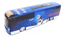 Free shipping Christmas gift the big bus Children gift alloy car models For Baby Toys