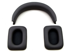 Replacement Earpads and Headband Repair Part Set for Monster Inspiration Noise Canceling Over-Ear Headphones (Black)