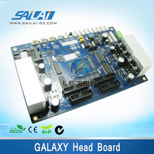 Cheap price! printer plate galaxy dx5 print head board/carriage board for galaxy double head printer