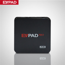 IPTV EVPAD PRO EVPAD 2S EVPAD Smart Android TV Box 1000 HD TV Live Channels Asian Malaysia Korean Japanese Arabia Set Top Box