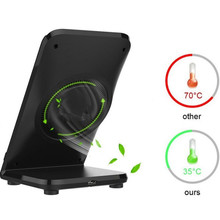 Qi Wireless Fast Charger Stand Pad Fan For Samsung Galaxy S8/S8 Plus For iphone huawwei  wireless fast charging
