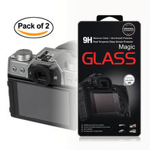 2x Self-Adhesive 0.3mm Glass LCD Screen Protector for Fujifilm X-T10 X-T20 X-A2 X30 XT10 XT20 XA2 X30 Digital Camera