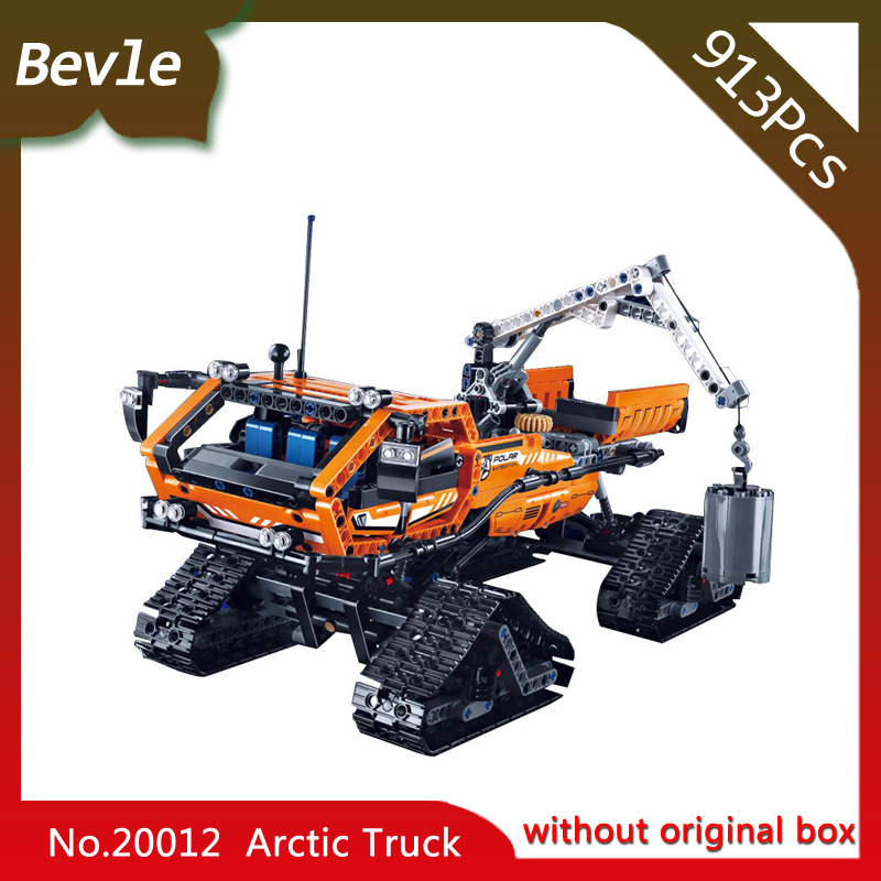Bevle Store LEPIN 20012 1605Pcs Technic Series Polar Engineering Trucks Building Blocks set Bricks For Children Toys 42038<br>