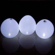 2000pcs 12inch White Led Latex Balloon Wedding Party Decoration Christmas Gift Glowing Hellium Balloons(China)
