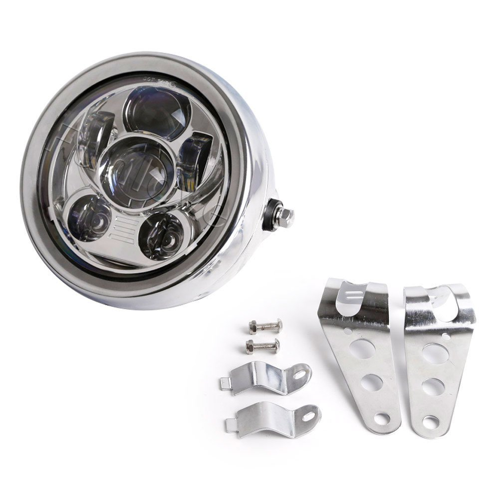New 5.75 5 3/4 Inch Motorcycle Headlight Assembly Housing Mounting Ring Bucket for Harley Davidson 5.75 headlight<br><br>Aliexpress