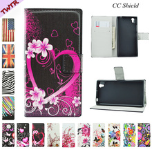 Magnetic Flip Case for Lenovo P70 a t P 70 70a 70t HD Luxury painted mobile phone holster for Lenovo P70a P70t P70-a P70-t Bag(China)