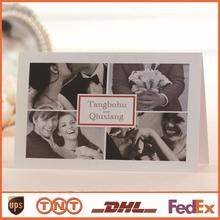 Custom Photo Wedding Invitations Paper Invitation Card Wedding Favors HQ0085