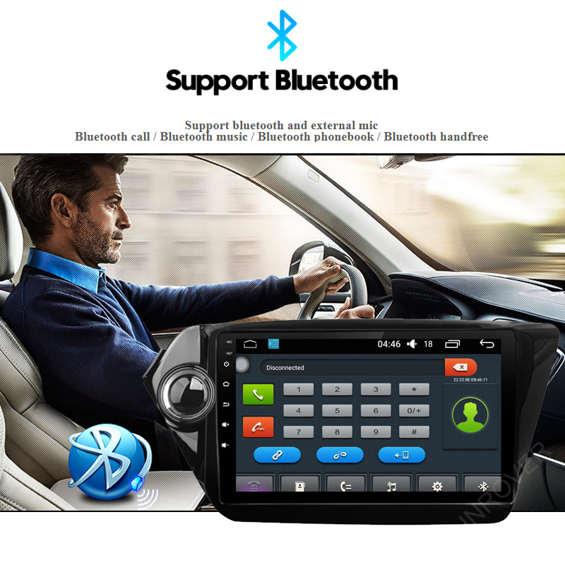 Quad Core 9 inch Android 5.1.1 Car GPS Navigation for Kia RIO K2 2010 2011 2012 2013 2014 2015 Radio Cassette Player WIFI DVR