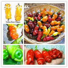 200pcs/bag Penis Chili Red Hot Peter Pepper seeds tasty big delicious Vegetables seeds  most funny peppers Bonsai plants Seed