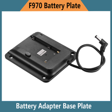 VESA 75mm Adaptador de Bateria Placa de Base para Lilliput 4 K HDMI Monitor Compatível para Sony NP-F970 F550 F770 F970 F960 F750 bateria(China)