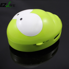 EZLIFE Colorful Cute Corner Vacuum Cleaner Plastic Mini Computer Keyboard Vacuum Cleaner House Cleaning Accessories ZH01714(China)