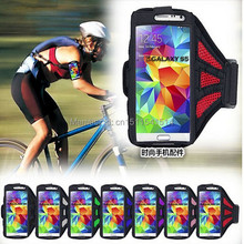For samsung s5 galaxy s5 sports arm sleeve i9600 g900 mesh breathable mobile phone armband(China)