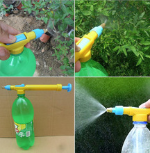 New Durable Mini Juice Bottles Interface Plastic Trolley Gun Sprayer Head Water Pressure
