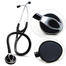 Professional Cardiology Stethoscope Built-in Dual Channel Tube Single Head Medical Stethoscope Home Use(China)