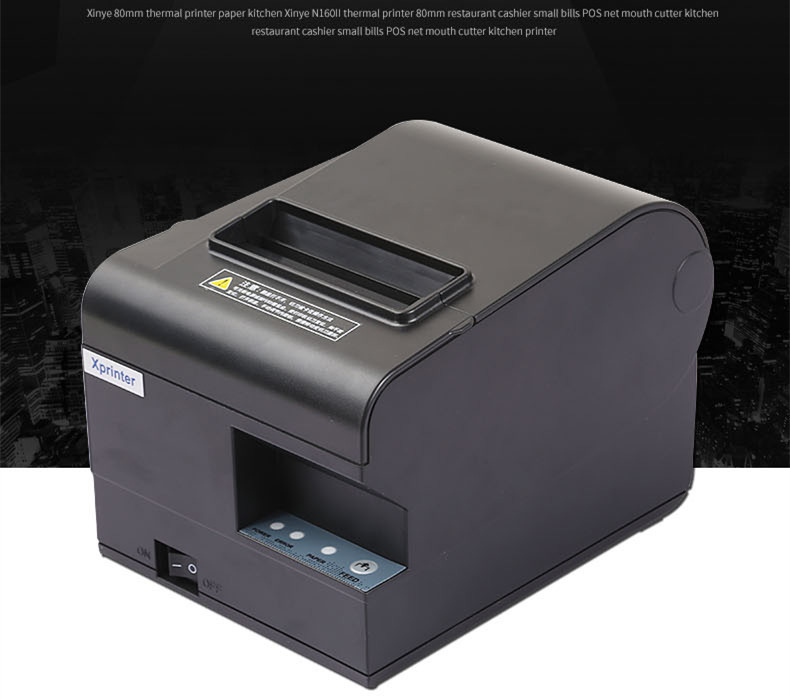 wholesale 2017new high-quality 80mm thermal receipt printer XP- N160II automatic cutting printing USB port or Ethernet port(China (Mainland))