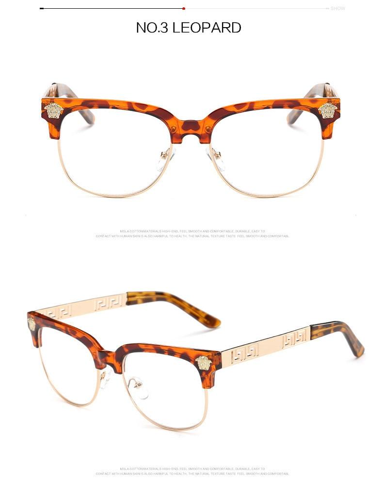 Großhandel Yooske Fashion Clear Sonnenbrille Frauen Männer Optik ...