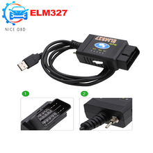 For Ford ELM 327 USB FTDI chip with switch Works on Forscan For Ford HS CAN /MS CAN car diagnostic Tool&ELM327 Bluetooth Version(China)