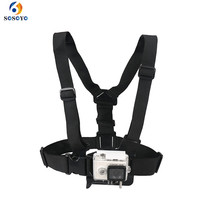 Buy Adjustable Chest Straps Chest Body Harness mount belt Gopro hero 5 4 3 2 SJCAM Xiaomi yi Action Camera Accessories for $6.36 in AliExpress store