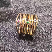 ANI 18K Yellow Gold (AU750) Wedding Women Rings Certified Sapphire Round Elegant Gemstone Ring for Lady Engagement Fine Jewelry(China)