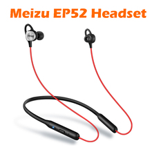 Original Meizu EP52 Sports Bluetooth Earphones Stereo Headset Nano Waterproof IPX5 Aluminium Alloy Support IOS Android(China)