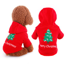 Christmas Dog Clothes Tree Costume Pet Dog Christmas Clothes Winte Coat Clothing Cute Puppy Outfit for Dog Plug Size XS-XL 1pcs(China)