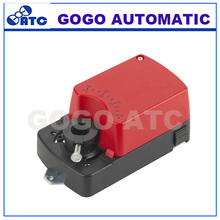 General damper Actuator 4Nm 0-10V / 4-20mA modulating for operation of air control dampers in HVAC system ADC24V / AC100-240V