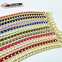 Hot Sale Free Shipping High Quality Purse Replacement Handbags Bags Handle PU Strap Chain