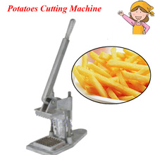 Manual French Fries Cutting Machine Potatoes Cutter Radish Cucumber Taro Machine with Instruction FY-P01