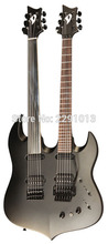 New Arrival guitar Good quality double neck guitar ;VigierDoubleBfoot guitar ;Free shipping