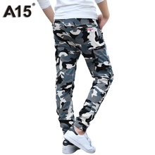 A15 Camouflage Pants Kids Boys Cotton Long Teenage Clothing Camo Trousers 2017 Big Size 8 10 12 14 16 Year - Children Sweety Clothes Store store