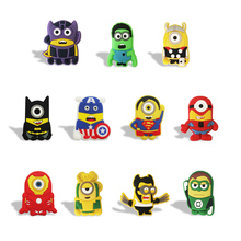 11PCS/lot Despicable Me/ Minions kitchen Memo PVC Refrigerator Stickers Blackboard Magnets, Kid Toys School Supplies