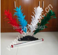 Hamed Colorful Feather Sticks - Magic Trick,Color Changing feather,duster color changing flower,mentalism,stage,close up,fun(China)
