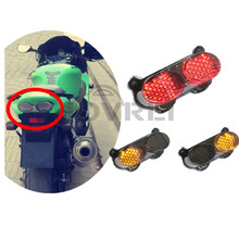 new Motorcycle Smoke LED Tail Light Lamp TailLight Turn Signals For Kawasaki ZX6R ZX900 ZX9R ZZR600 ZR7S 1998-2007