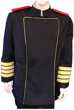 Royal Manticoran Navy Officers Service Uniform Cosplay Costume Adult Men Halloween Costume(China)
