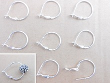 Smooth Face Ring 20PCS Earrings DIY Jewelry Results Silver Circle Jewelry Accessories Fashion Accessories Discount